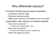 Econ 300_Summer 2009_Slides 4- Differential Calculus[1]