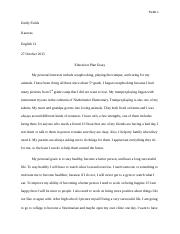 Educational Plan Essay