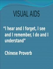 4d Visual Aids in Presentations