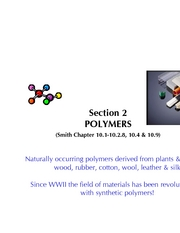 Section 2A Polymers