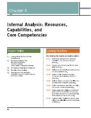 Chapter 4 - INTERNAL ANALYSIS - RESOURCES, CAPABILITIES, AND CORE COMPETENCIES.pdf