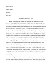Abigail Johnson - Sociology Course Paper 1 - Jonah Mowry, Bullied Gay Teen.docx