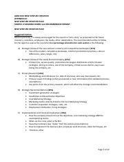 APPENDIX #2 New Venture Creation Plan SAMPLE of a GRADING RUBRIC and RECOMMENDED FORMAT .pdf