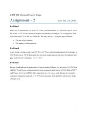 CHEN 470 - Assignment 2 - Fall 2013-14.pdf