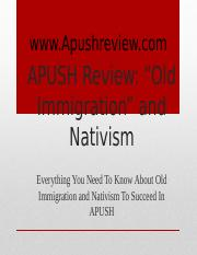 "APUSH-Review-""Old-Immigration""-and-Nativism.pptx"