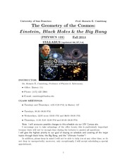 Geometry - Cosmos Syllabus