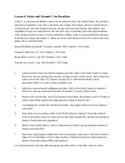 Lesson 9 Case Study Answers