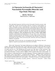 A Character in Search of Character Narcissistic Personality Disorder and Ego State Therapy.pdf