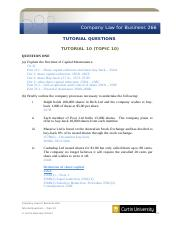 CL266 Tutorial Questions Topic 10(1).docx