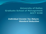 Standarddeduction