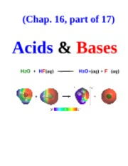 Acids-Bases Notes