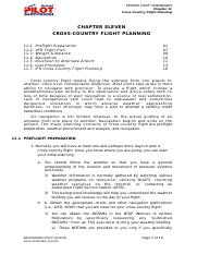 11CHAPTER ELEVEN cross country flight plan.doc