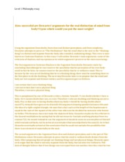 Health Needs Assessment Essay  Pages Descartes Essay Thesis Statement For An Essay also What Is The Thesis Statement In The Essay Descartes Essay  Level  Philosophy Essay How Successful Are  Starting A Business Essay