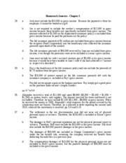 TAX4001 - Answers Chapter 5