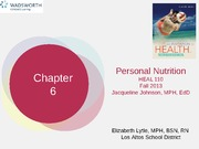 HEAL110chapter6