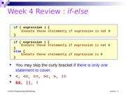 COMPUTING CS1010 : Programming Methodology - National University