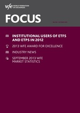 2013.10 - Word Federation of Exchanges - Focus - Instutional Users of ETFs and ETPs in 2012