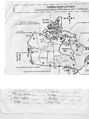 Labelling Canada's Provinces Homework For CGC 1D0