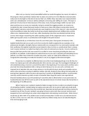 NURSING C493 : LEADERSHIP - Western Governors University -