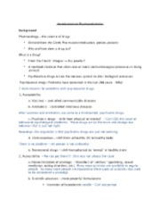 Introduction to Pharmacokinetics Notes
