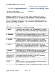 chamberlain college nr 447 week 4 milestone 2 Nr 447 week 4 assignment nursing care models paper new nursing care models paper: guidelines purpose the purpose of this assignment is to identify nursing care models utilized in today's various health care settings and enhance your knowledge of how models impact the management of care and may .