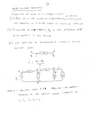 EE 3N03 Node Voltage Analysis Notes