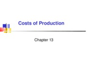 chap 13- Production & Costs