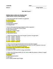 Biol2003_Exam_2_Fall 2013_Key