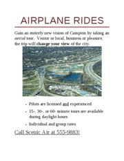 DONE Lab 1-1 Airplane Rides Flyer