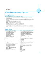 Supplier Evaluation and Selection(3)(1)