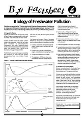 010 - Biology of Freshwater Pollution