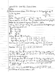 Tutorial Notes for Stat 332