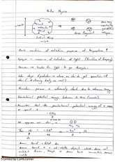 Stellar Physics Gravitational Potential Energy Class Notes