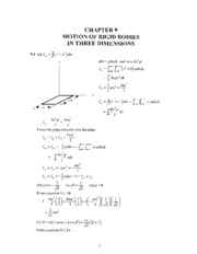 analytic mechanics 7E ch9