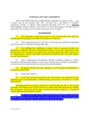 Purchase Agreement ASSIGNMENT unfinished