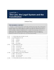 Business and the Law 6th Edition, Chapter 1.pdf