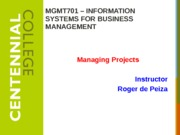 Class10 - Managing Projects F13