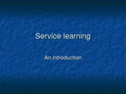Service+learning+student+version