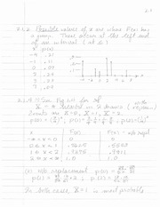 Homework 2.1 Solution on Probability and Statistics.