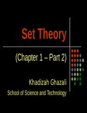 CHAPTER 1 - PART 2 - SET THEORY - Copy.ppt