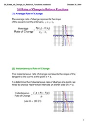 5.6 Lesson_Rates_of_Change_in_Rational_Fns