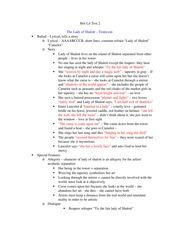 English Study Guide Test 2