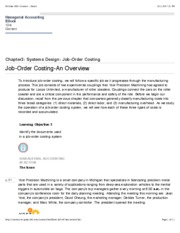 Job-Order Costing-An Overview