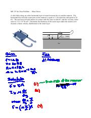 ME 335_2c In-Class Problem - Shear Stress_filled