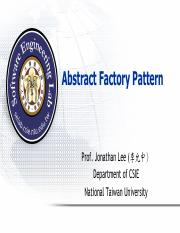 (5) Abstract Factory Pattern.pdf
