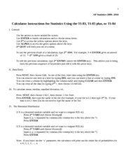 CalculatorInstructions