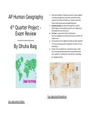 APHUG Exam Review