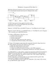 Multiphysics assignment2