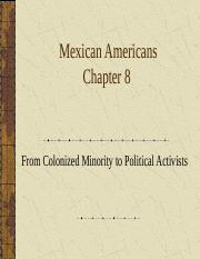 Chapter 8 Mex- Am