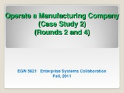 Case study 2 Manufacturing R2-4